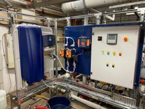 Bespoke Chlorine Dioxide Unit Installation